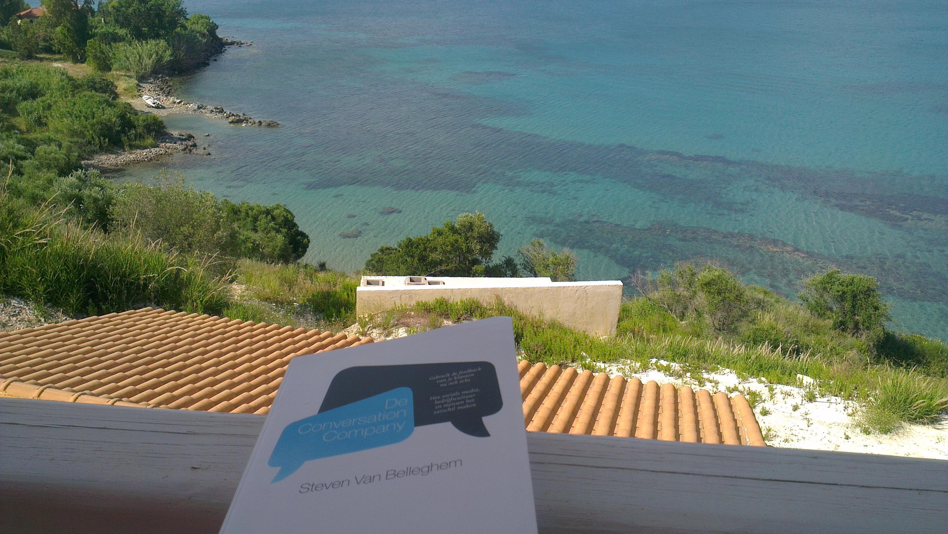 Er zijn slechtere plaatsen dan op een balkonnetje in de zon met uitzicht op zee een goed boek als de Conversation Company van Steven van Belleghem lezen. Het boek zelf […]