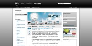 Dell betrekt klanten bij productinnovaties
