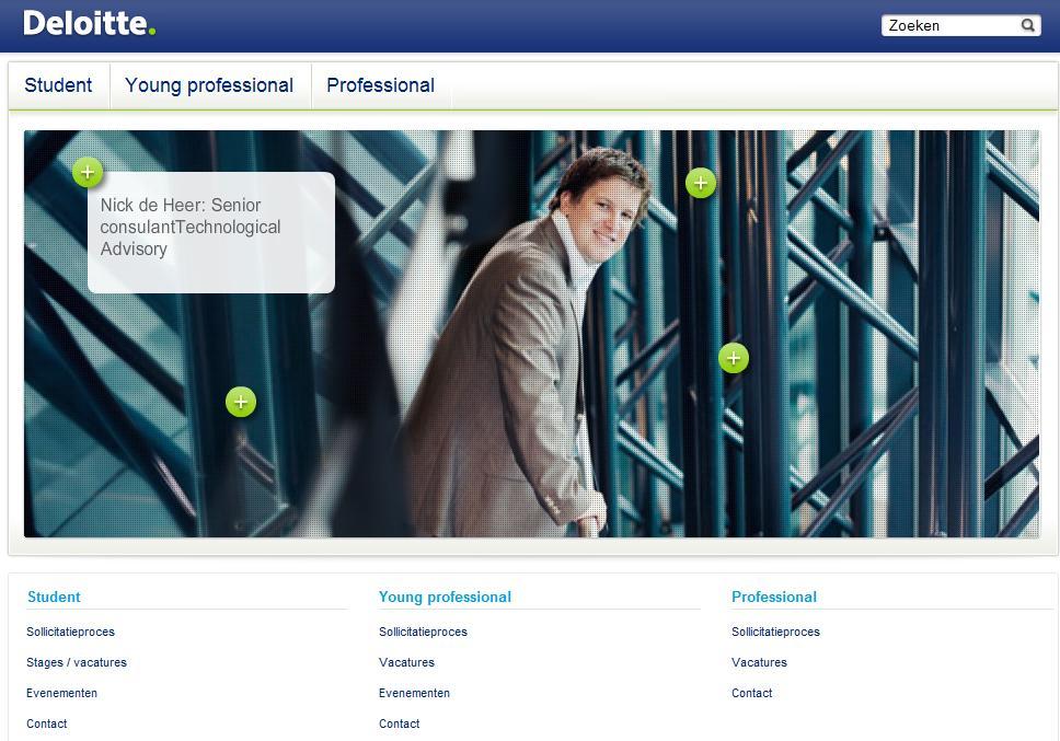 Per 7 oktober heeft Deloitte (mijn werkgever, maar ik blog voornamelijk vanuit mezelf) een nieuwe carrièresite gelanceerd (werkenbijdeloitte.nl). Binnen de mogelijkheden en de ontwikkelingen rond social media is een ambiteuze […]