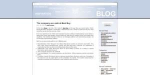 Innovation Factory toont leiderschap middels corporate weblog