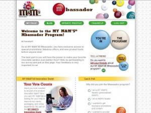 De M&M ambassador community laat fans van M&M ideeën en ervaringen over het merk delen